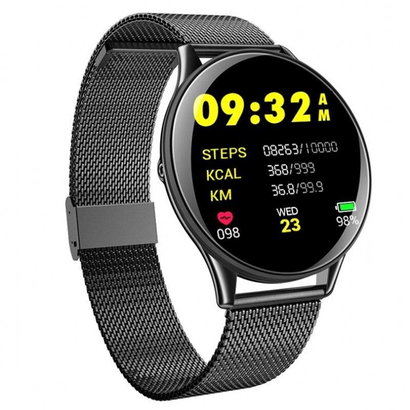 Digital Wristwatches Heart-Rate Bluetooth Sports Women Fashion Ultra-Thin Blood-Monitor