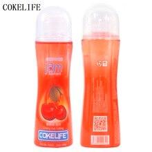 Cokelife вишня фруктовый вкус воды База смазка для оральный секс, мёд влагалище анальный смазки секс масло Средства ухода за кожей массаж гель 100 г