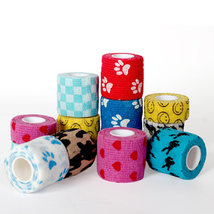 Image 3 - 5CM*4.5M Tape Waterproof Self Adhesive Elastic Bandage Muscle Tape Finger Joints Wrap Therapy Bandage Care 1 Pc