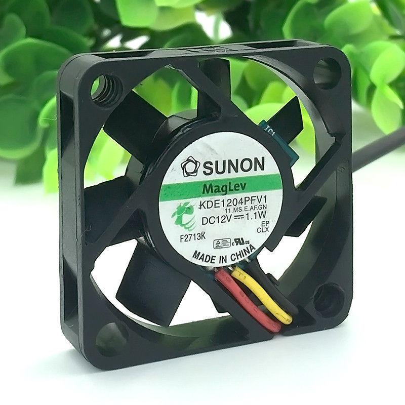 Computer PC CPU Case Cooling Fan Voor Originele SUNON KDE1204PFV1 12 v 1.1 w 4010 Maglev koelventilator 40 x 40x10mm