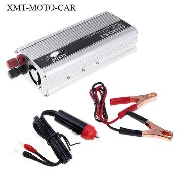 Auto-ladegerät zigarettenanzünder ac adapter 12 v 220 v 1500 watt inverter splitter converter 12 v 110 v/24 V 220 V 1 stück