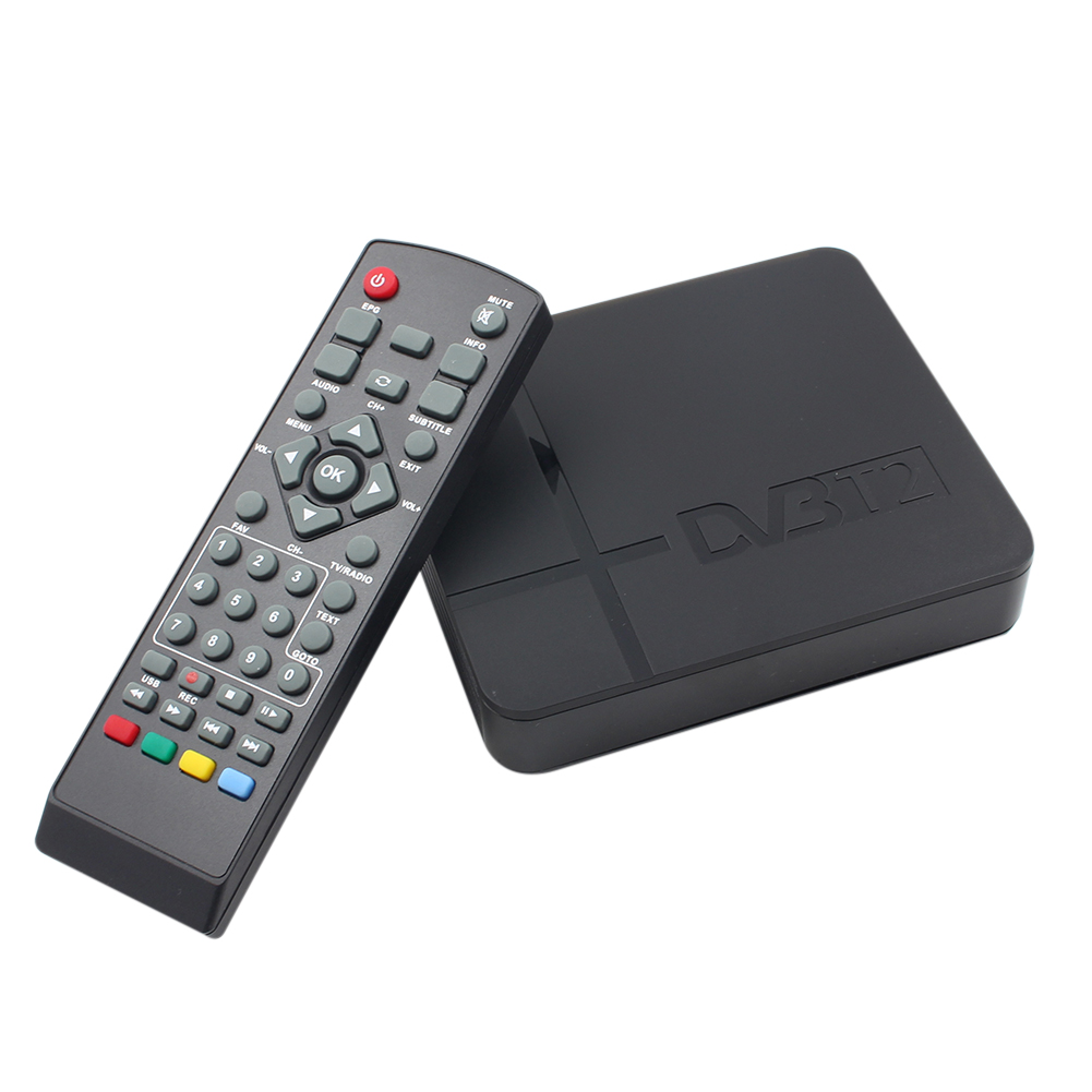 K2 HD DVB-T2 Digital Terrestrial Receiver Set-top Box with Multimedia Player H.264/MPEG-2/4 Compatible with DVB-T for TV HDTV hdvb 8703 hdtv mpeg4 h 264 dvb t digital terrestrial receiver w pvr hdmi scart eu plug