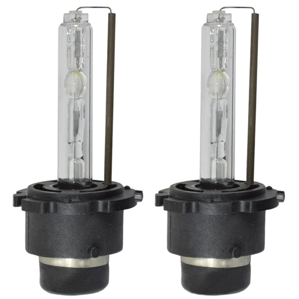 HID Xenon D2S Two Bulbs Head Light 10000K Blue Bi-Xenon Plug Play Replace Lamp