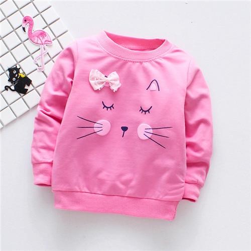 Baby's Cat Printed Sweatshirt 11 » Pets Impress