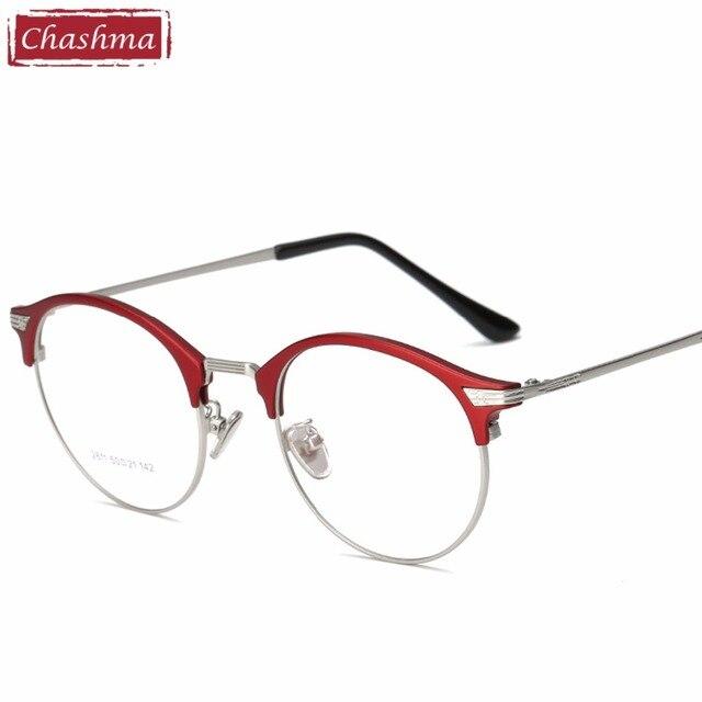 2018 nuevas gafas Chashma marca Vintage gafas redondas marco Retro ...