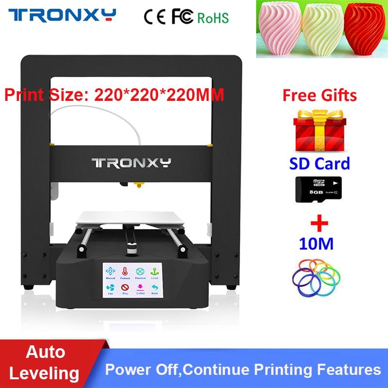 Auto leveling tronxy x5sa diy 3d printer full metal 3d machine 3 5
