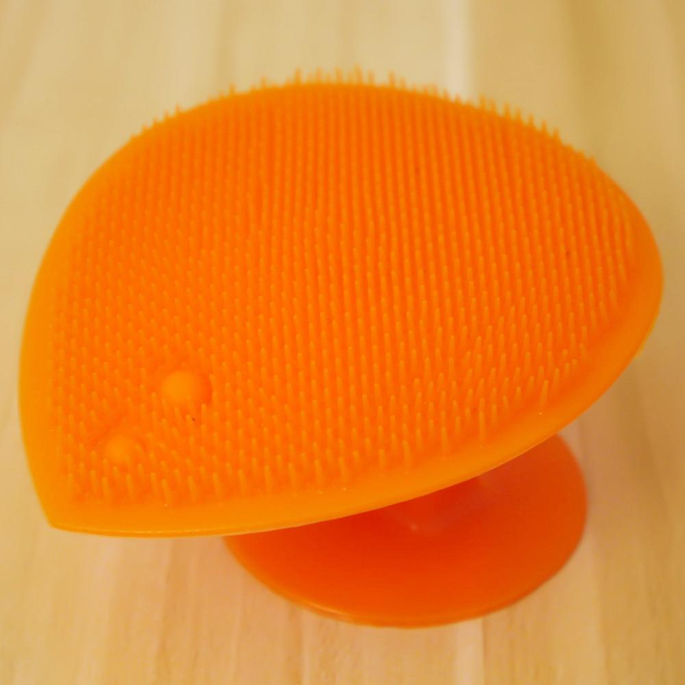 1 Pc Almohadilla De Silicona Para Lavar La Cara Exfoliante Eliminador De Espinillas Cepillo De Limpieza Facial Limpiador De Poros Herramientas De Belleza Para El Cuidado De La Piel
