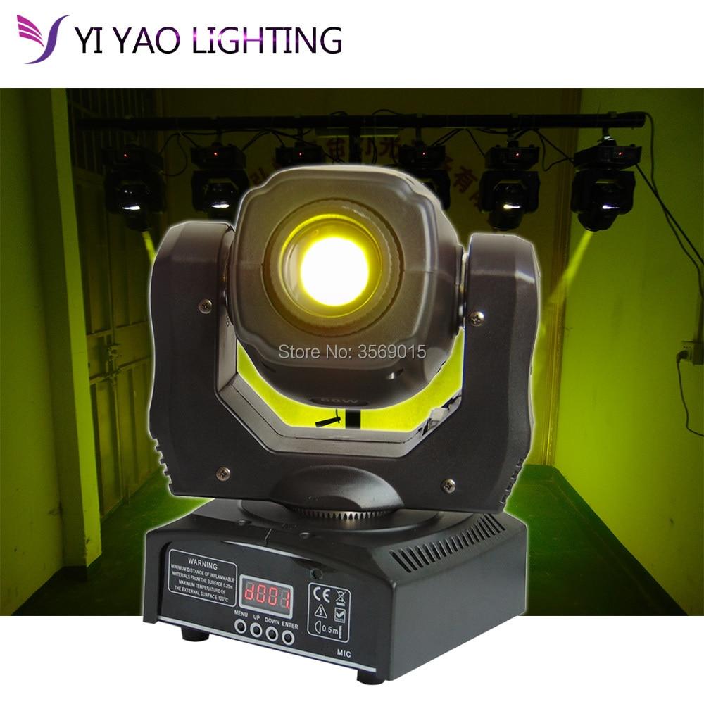 luzes dj 60 w mini moving head led spot feixe de luz palco dj moving head