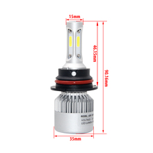 36W Led Headlamp 9007 High Low Beam 72W Cree Chips Hb5 PX29T 6500K 8000Lm 16000Lm Led Headlight Kit Easy Install