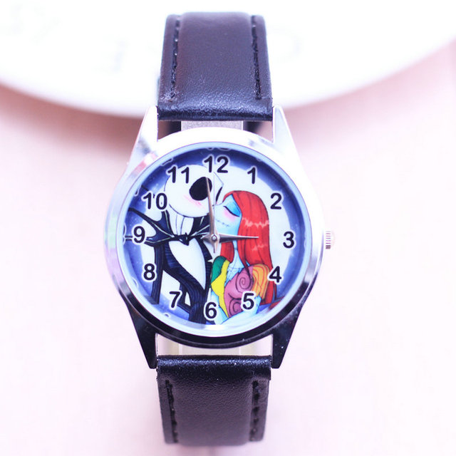 2018 fashion Watches Children The Nightmare Before Christmas Kids watch Boys gif