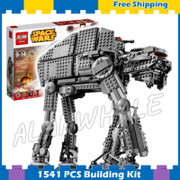 1541pcs Space Wars The First Order Heavy Assault Walker 05130 Model Building Blocks Gifts Sets Games