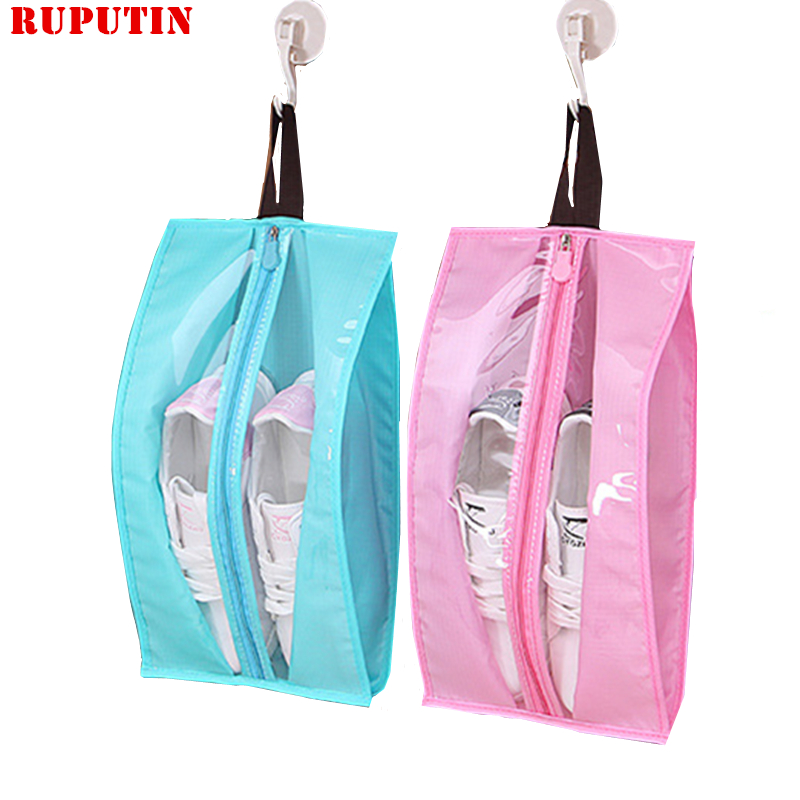 RUPUTIN Simple Practical Shoes Storage Bag Travel Shoes Dust Bags Waterproof Shoes Boots Cover Organizer Bags Travel Accessories