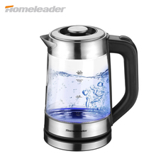 Homeleader Glass Electric Water Kettle Temperature Control Tea Hervidor High Quality Capcity Kettle K09-120 New Arrival