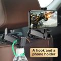 Автомобильный держатель для телефона Baseus  крепеж для телефона на заднее сиденье автомобиля  крепеж сиденья для телефона