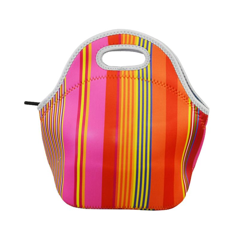 fashion shipping lancheira Neoprene lunch Bag Thermal Food Picnic Lunch Bags for Women kids Men Cooler Lunch Box BagTotex3611