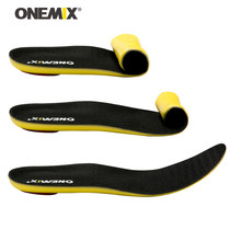 ONEMIX Men Deodorant Sneakers Insoles For Women Professional Shock Absorption Soft Absorb Sweat Shoes Pads Massage Air Insole 8(China)