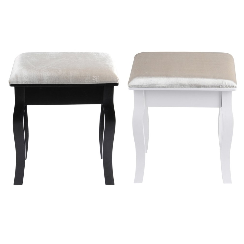 Comfortable Vintage Piano Stool Padded Dressing Makeup Chair Music Piano Chair Stool Guitar Chair Seat Home Decoration Furniture floral cushion design table stool padded piano chair wood stools rest cosmetics seat sofa bench simple stool home furniture