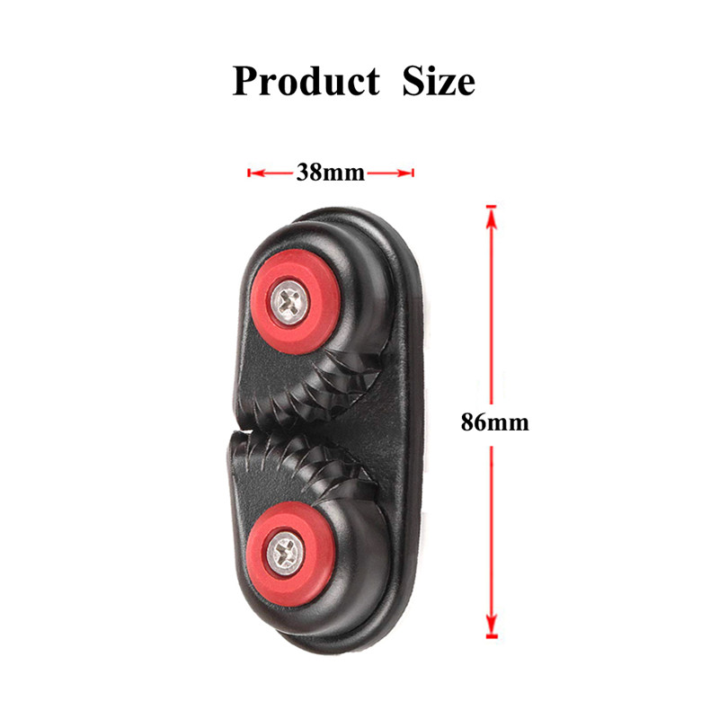 Rowing Boat Fast Entry Cleats Canoe Kayak Cam Cleat Kayak Accessories Sailing Inflatable Boat Aluminum Cam Cleats in Rowing Boats from Sports Entertainment