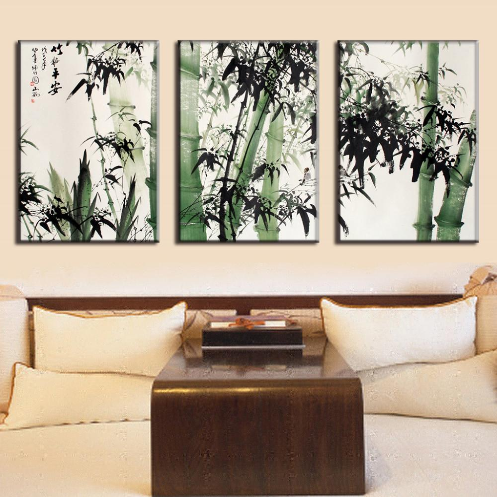 Traditional Wall Art bamboo wall art promotion-shop for promotional bamboo wall art on