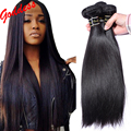 7A Mink Brazilian Virgin Hair Straight 4bundles Human Hair Extensions Brazilian Hair Weave Bundles Brazilian Straight Hair Weave