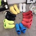 2017 Unisex Primavera Outono amantes multicolor alta tops Sapatos de couro À Prova D' Água Plataforma Flats Lace-Up de Lazer Sapato