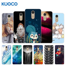 Cover Voor Lg K8 2017 Eu Versie Case Zee Golven Ontwerp Silicone Soft Tpu Shell Voor Lg K8 2017 Terug cover Fundas Lg X240 Capa(China)