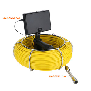 Image 3 - MAOTEWANG 4.3 אינץ 22mm כף יד תעשייתית צינור ביוב פיקוח וידאו מצלמה IP68 Waterproof 1000 TVL מצלמה עם 6W LED
