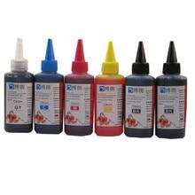 600 мл Универсальный 6 Color dye ink kit 100 МЛ каждая бутылка для Canon PIXMA mg7720 MG7730 MG7740 MG7750 MG7760 MG7770 MG7790 принтер