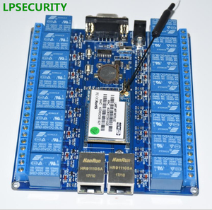 Image 2 - Objets dinternet intelligents, domotique, port RS232 RJ45, module de relais wifi, carte de relais à 16 canaux ou 2ch, antenne wifi p2p