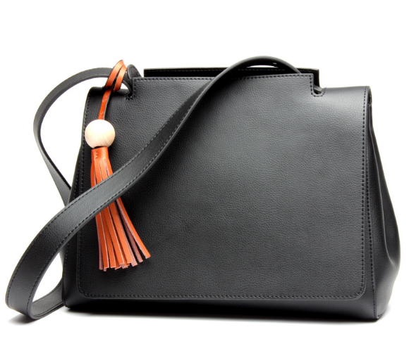 New Casual Tassel Genuine Leather Female Shoulder Bag Fashion Exquisite Girl Messenger Bag Elegant Portable Lady Handbag C485