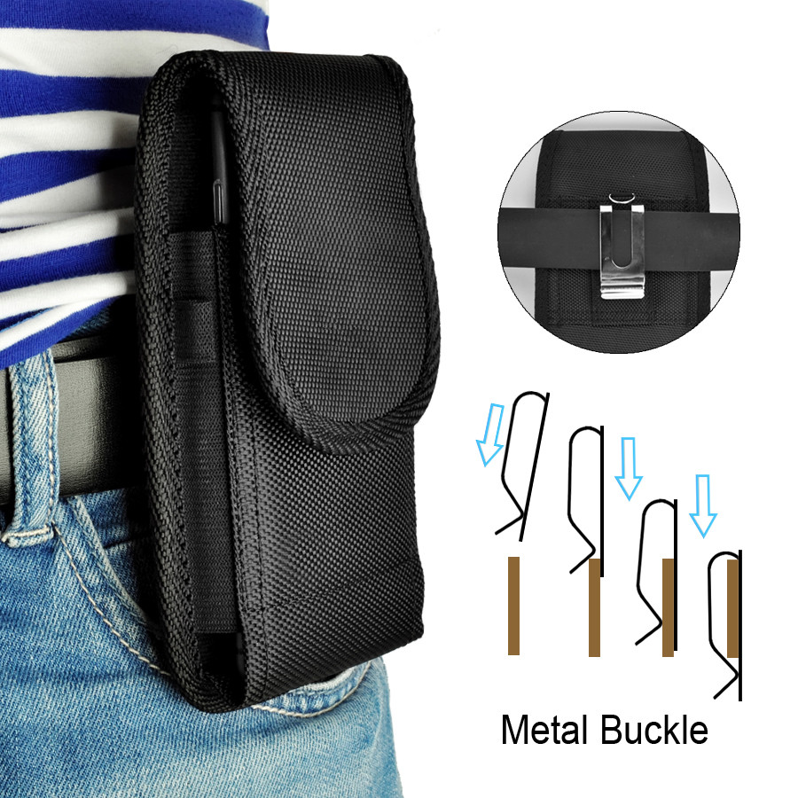 LANCASE Sport Taske Tasker Til iPhone 8 7 Plus Taske Løbende taljepose til iPhone 8 7 6s Plus X Cover 360 Rotation Pouch Belt Clip