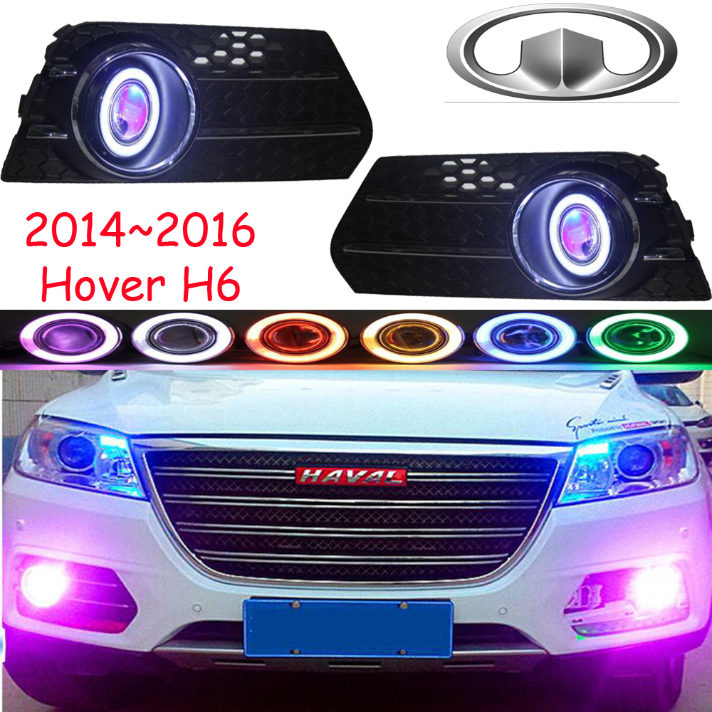 Great Wall Hover H6 fog light 2014~2016;Free ship!Hover H6 daytime light,2ps/set+wire ON/OFF:Halogen/HID XENON+Ballast,Hover б у авто great wall wall hover 2 4p mt 5w