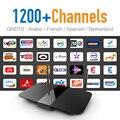 Árabe Francés caliente CIELO ES DE UK Canal IPTV Canales de Europa y VOD WIFI de la Ayuda HD de Salida 1G DDR3 Mejor Jugador TV IPTV Androide caja