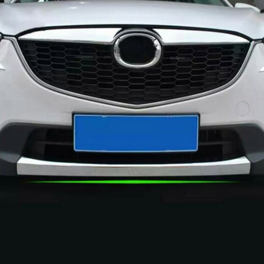 YAQUICKA ABS Car Exterior Front Bumper Lip Cover Strip Trim Styling Fit For Mazda CX 5