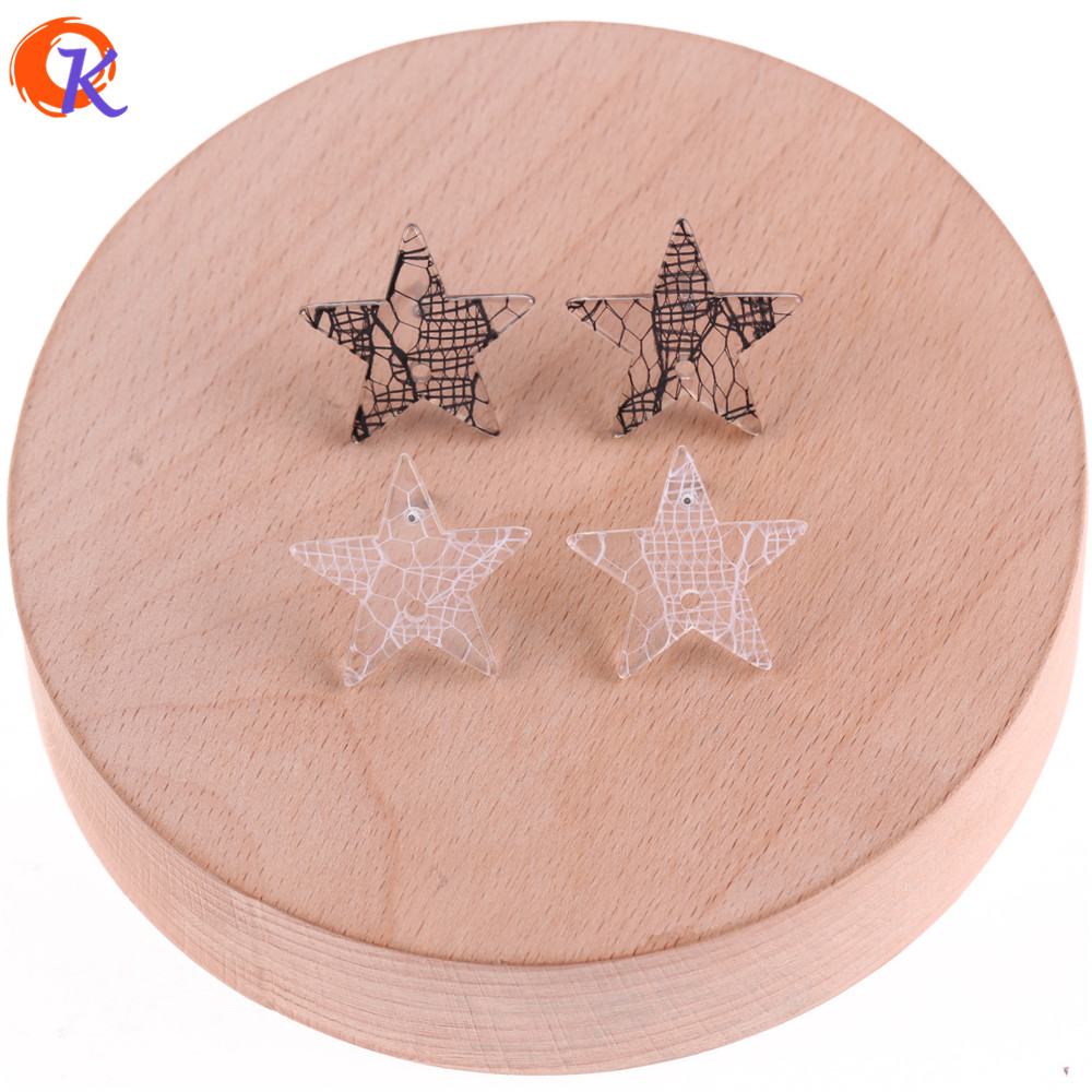 Cordial Design 50Pcs 21mm Jewelry Accessories/Hand Made/Stud Earrings Parts/Star Shape/DIY Jewelry Making/Earring Findings