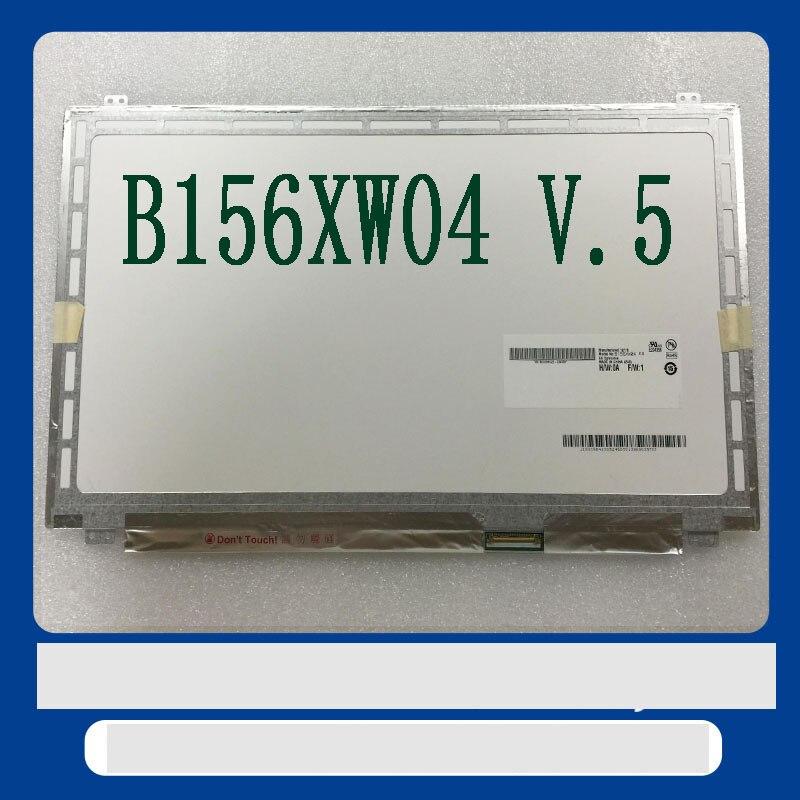 Frete grátis LP156WHB TLA1 B156XW04 V.5 B156XW04 V.6 N156BGE-L31-L41 n156bge LTN156AT20 LTN156AT30 LP156WH3 TLS1 LCD 40PIN