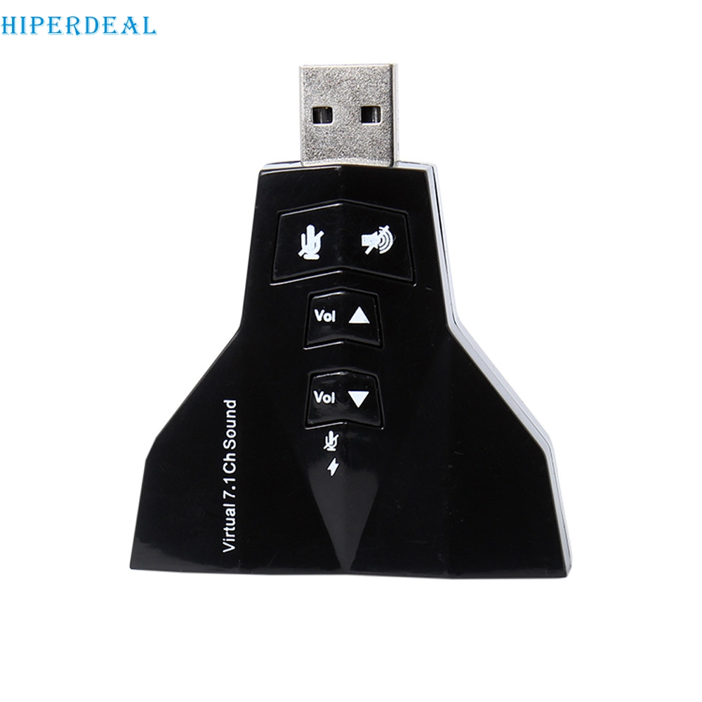 e08ccbc938d HIPERDEAL New 7.1 CH Channel USB 2.0 3D Audio Sound Card Adapter Mic  Speaker 0321 Drop Shippping Drop Shipping