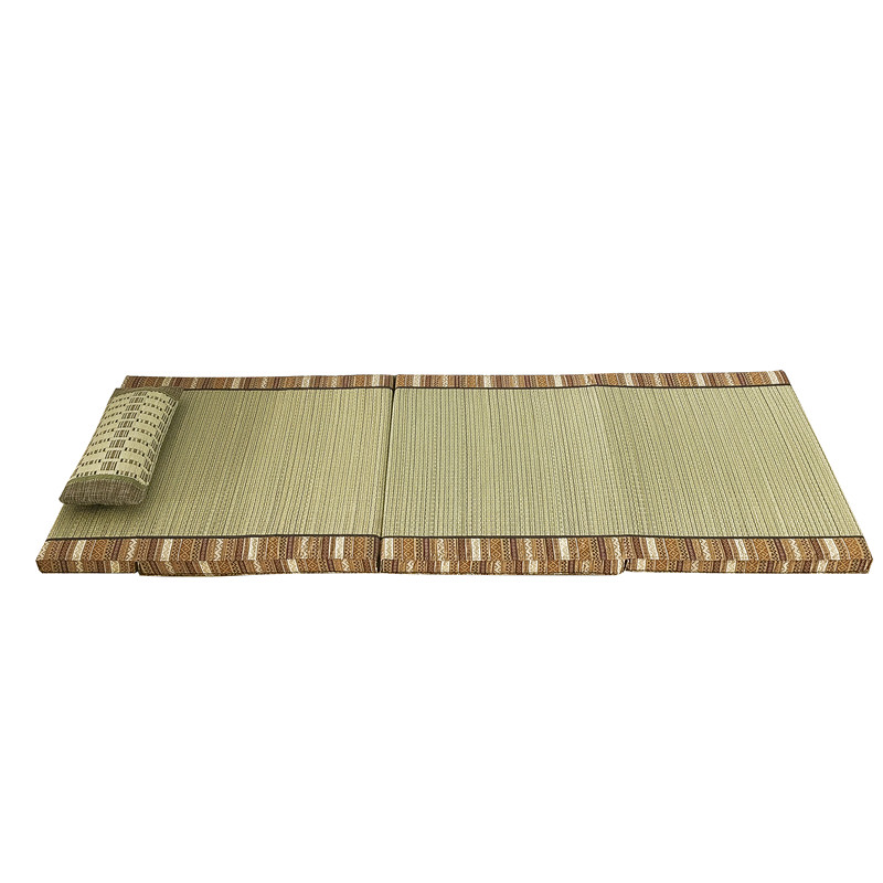 Tapis pliant en Tatami de paille Rectangle tapis de grande taille tapis Judo japonais Futon Tatami tapis pliable en paille pour dormir - 4