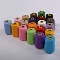 8000 Yards Orange Industrial Overlock Sewing Machine Polyester Thread Sewing Line (19/color)