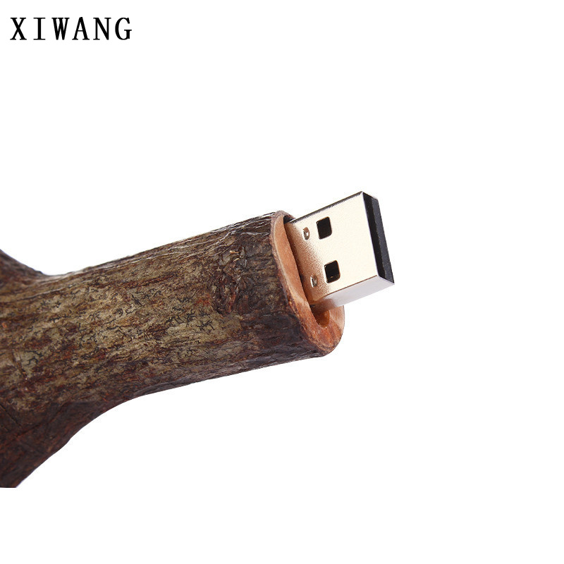 Image 5 - funny usb flash drive root memory usb 2.0 pen drive waterproof 32gb 64gb 8GB 4gb 16GB pendrive 128gb Wood branches creative gift-in USB Flash Drives from Computer & Office
