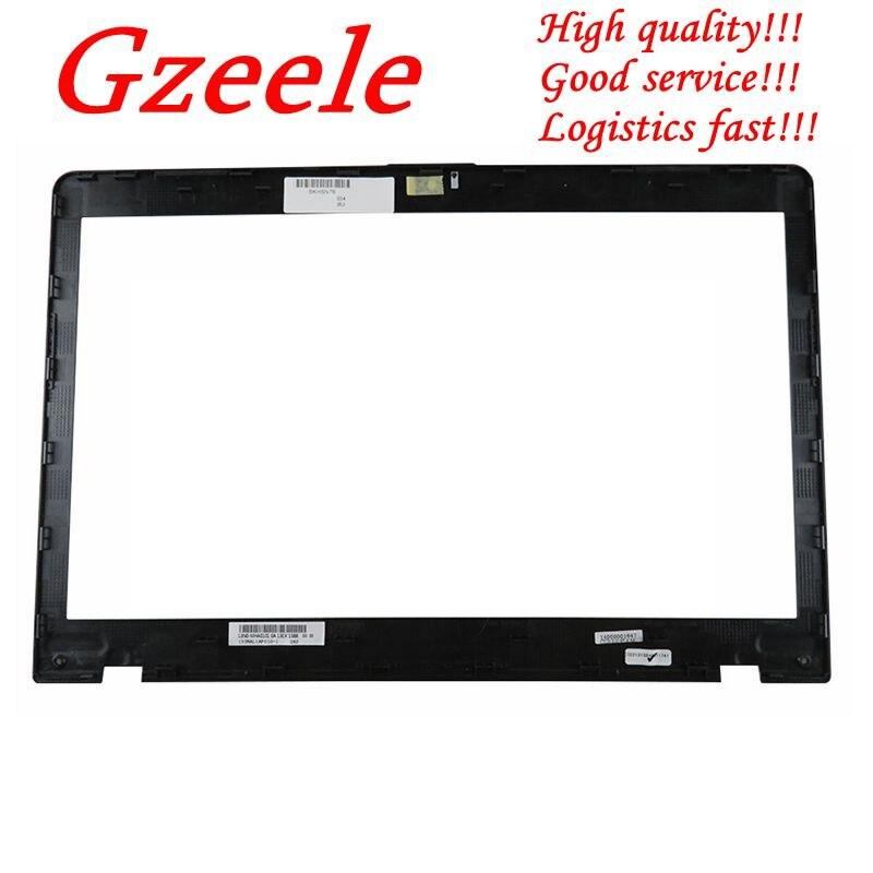 GZEELE nouveau pour Asus N76 N76V N76VB N76VJ N76VM N76VZ LCD couvercle de la lunette avant B coque 13GNAL1AP010-1 noirGZEELE nouveau pour Asus N76 N76V N76VB N76VJ N76VM N76VZ LCD couvercle de la lunette avant B coque 13GNAL1AP010-1 noir