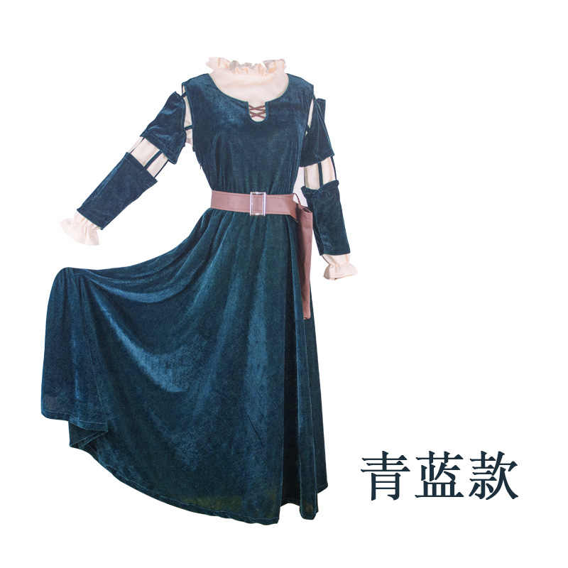 Detail Feedback Questions About Brave Merida Dresses Cosplay
