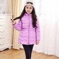 Girls Winter Coat Baby 2016 New Chidren Jackets Duck Down Kids Winter Jackets for Girls Outerwear Fur Collar Long Girls Jackets