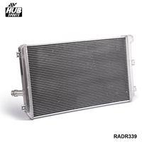 Hubsports-Tam Alüminyum 2-Row/Çekirdek Yarış Için Soğutma Radyatör MT VW Golf GTI/MK5/A5 HU-R339RAD