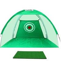 XC LOHAS Golf Training Aids Indoor Outdoor Foldable Golf Hitting Cage Garden Grassland Golf Practice Net