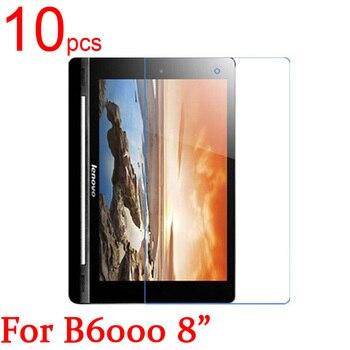10 шт. Ультрапрозрачная/матовая/нано защитная пленка для ЖК-экрана Lenovo Yoga Tablet B6000 B8000 B8080 H/F 10,1