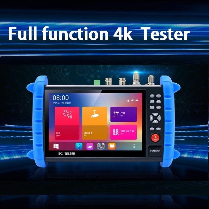 7-polegada 1920*1200 tela de toque H.265 4 K IP/TVI/CVI/AHD 8MP/ CVBS sinal de segurança testador profissional HDMI opcional
