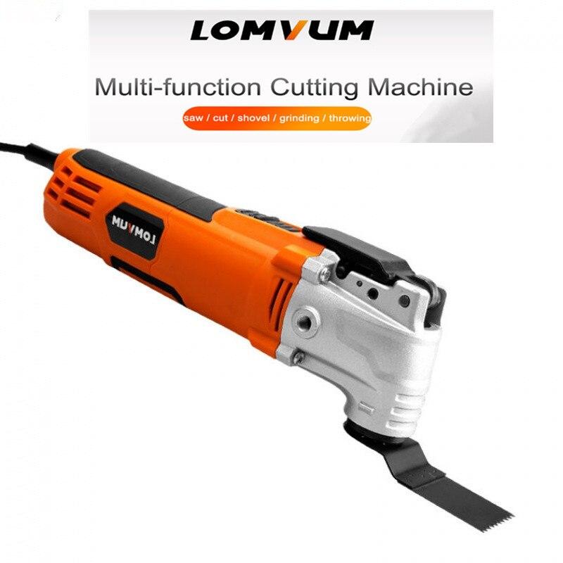 220 V tondeuse électrique coupe polissage meulage ouverture pelle à fente Machine multifonction travail du bois coupe outils électriques - 2