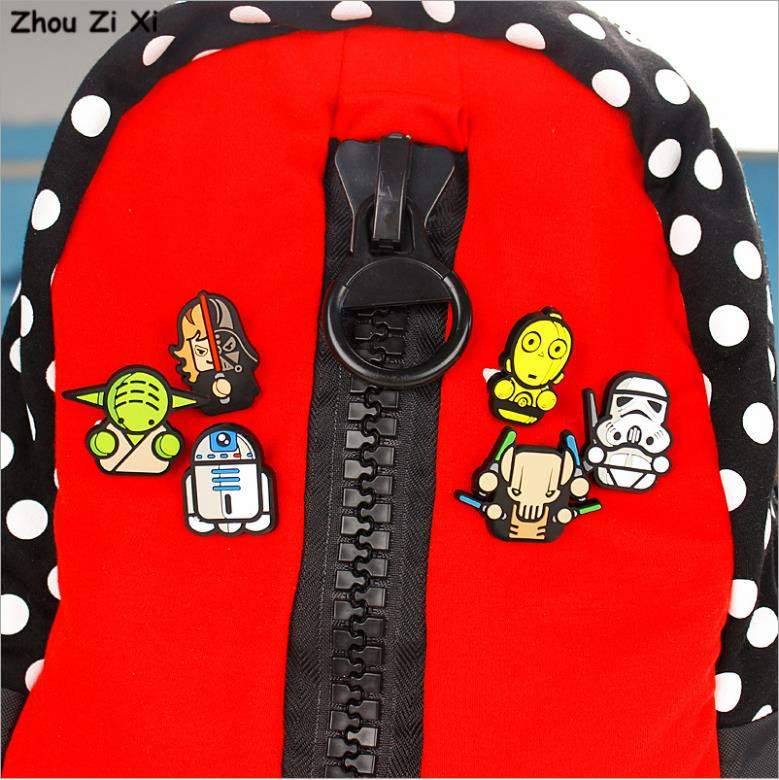 Cartoon cute creative STARWARS brooch toys