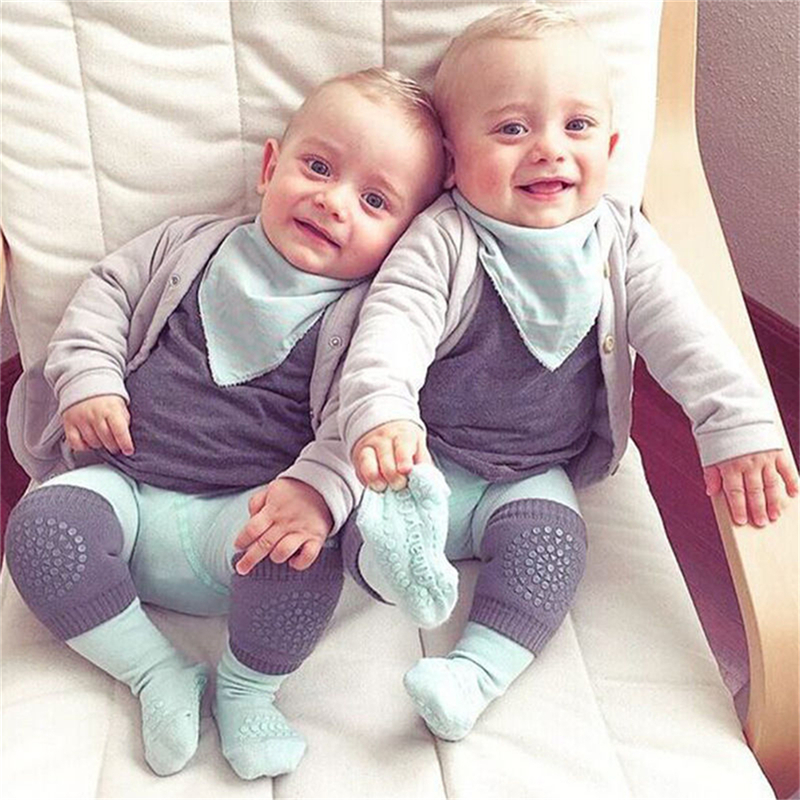 Infant Toddler Soft Anti-slip Elbow Cushion Crawling Knee Pad Kids Baby Safe S